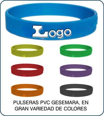 6559eab5954b Pulseras de PVC Publicitarias.